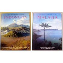 2 Libros Parques Nacionales Indonesia Y Malasia Usado