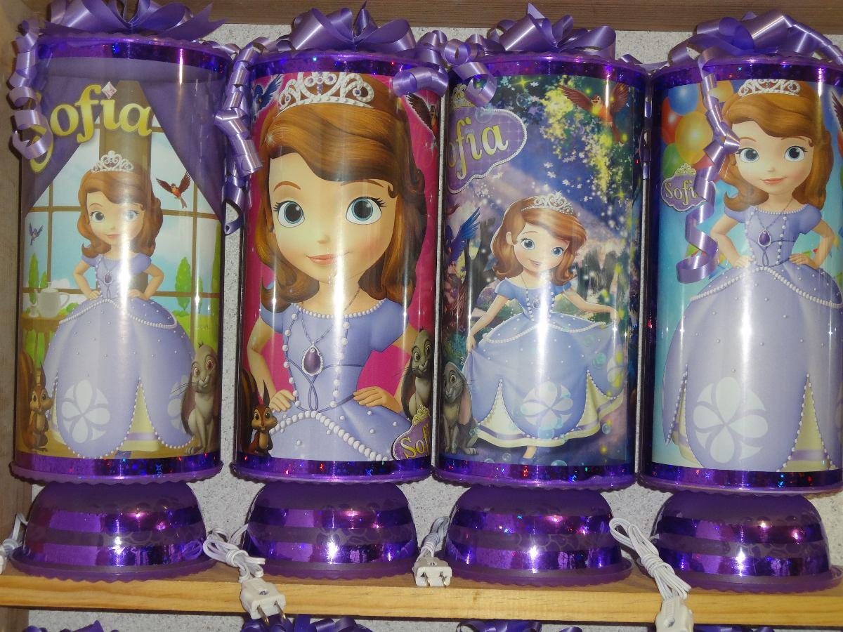 Recuerdos centros de mesa lamparas princesa sofia car - Lamparas de mesita ...