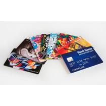 10 Invitaciones De Plástico Tipo Tarjeta De Crédito,hermosas