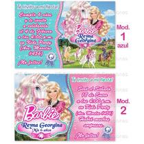 Invitaciones Cumpleaños Barbie Historia De Ponis Ponys