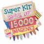 Super Kit Imprimible De Imagenes Y Fondos - Envio Gratis 2x1