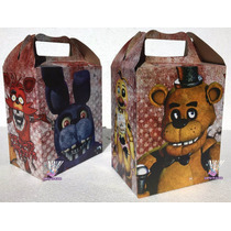 Platos Vasos Cajitas Bolo Fiesta De Five Nights At Freddy´s