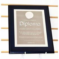 Diploma Decorativo Marcos Bases Reconocimientos
