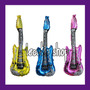 10 Guitarras Globos Fiesta Eventos Batucada Inflables Rave