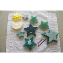 Jabones Artesanales De Glicerina (estrellas, Sol Y Luna)