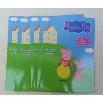 10 Libros Para Colorear 16 Pag Peppa Pig Premio Fiestas