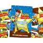 Woody Toy Story Invitaciones Etiquetas Y Mas, Kit Imprimible