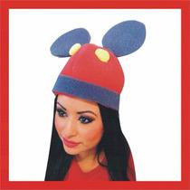 Sombrero Espuma Mickey Mouse Boda Xv Dj Fiesta Lente Peluca
