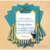 Kit Imprimible Fiesta Mi Villano Favorito + Candy Bar