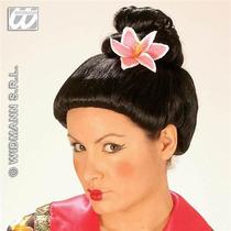 Geisha Peluca Disfraz - Señoras China Oriental Vestido De L