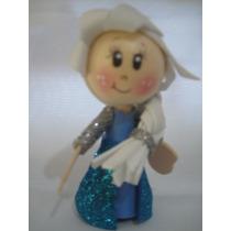 Mini Fofucha Reina Elsa (frozen)