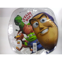 12 Globos Metalico 9 Pulg. Toy Story Amigos Centro Mesa