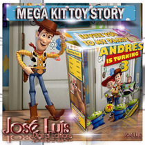 Toy Story Invitaciones Banderines Kit Imprimible Jose Luis