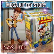 Toy Story Invitaciones Banderines Kit Imprimible Jose Luis