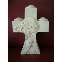 Cruz Porta-velas Con Cristo Super Oferta