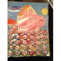 Peppa Pig 30 Minipines Artículos De Fiesta 70 Pesos