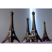 Torre Eiffel 25 Cm Decorativa Metal Mayoreo
