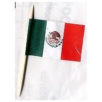 100 Palillos Botaneros Bandera 15 Septiembre Fiestas Patrias