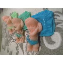 Recuerdos 10 Bebes Jabón Baby Shower, Presentación O Bautizo