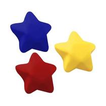 Antiestres Forma Estrella. 4 Colores Diferentes