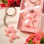 Llavero Osito Rosa Y Azul Recuerdos Baby Shower O Nacimiento
