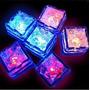 10 Hielos Luminosos Luz Led Fiestas Bodas Eventos Sumergible