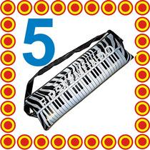 5 Teclado Inflable Fiesta Dj Boda Xv Grupo Musical Batucada