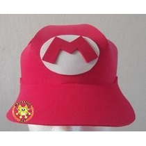 Gorras Foami Fomi Fiesta Infantil Disfraz Mario Bross