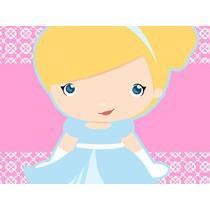 Kit Imprimible Princesa Cenicienta Baby Tarjetas Y Mas