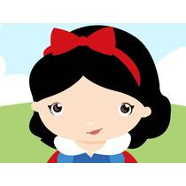 Kit Imprimible Princesa Blancanieves Baby Tarjetas Y Mas