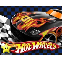 Gran Kit Imprimible Hot Wheels Diseñá Tarjetas, Cumples