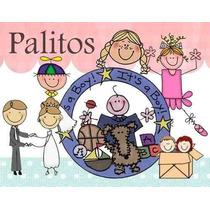 Kit Imprimible, La Familia Y Palitos, Mas De 2500 Imagenes