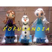 Centros De Mesa, Fofuchas Frozen, Elsa Y Anna, Fiestas Y +