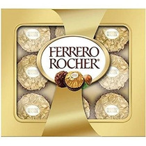 Ferrero Rocher Bombones 9 Count