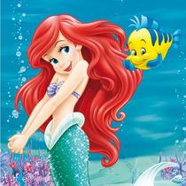 Kit Imprimible Y Candy Bar La Sirenita Princesa Ariel 2x1