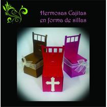 Hermosas Cajitas En Forma De Sillas