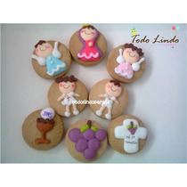 12 Galletas Decoradas Primera Comunion Centro De Mesa