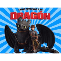 Kit Imprimible Como Entrenar A Tu Dragon Diseña Tarjetas