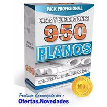 950 Planos Profesionales De Casas Hechos En Autocad +regalos
