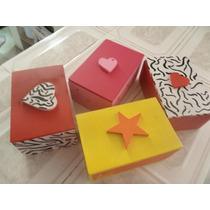 Cajas Decorativas En Mdf