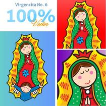 Virgencitas Y Santitos Para Imprimir A Gran Escala Vol. 6