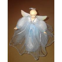 Angel De Porcelana Y Tul