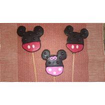 Deliciosa Galleta De Mantequilla Decorada De Mimi Mickey