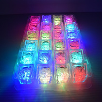 12 Hielos Luminosos Led Sumergibles Multicolor Sensor Liquid