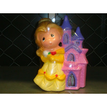 Hermosa Lámpara De Ceramica Princesa