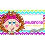 Etiquetas Escolares Personalizadas Autoadheribles Para Niños