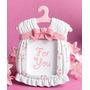 10 Portaretrato Vestido Rosa Recuerdo Baby Shower Maternidad
