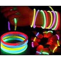 Pulseras De Cyalum Neon Calidad Premium 100 Piezas
