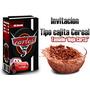 Cars Rayo Mcqueen Invitacion Etiquetas Y Mas, Kit Imprimble!