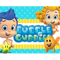Kit Imprimible De Bubble Guppies Diseñá Tarjetas Y Mas